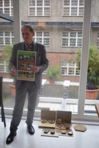 Hans Lothar Köhl, Gründer von Rice Straw Power. Foto: AMZ