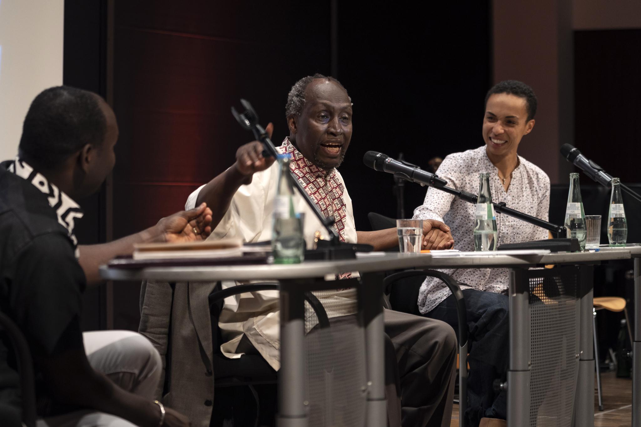 Köln 18.6. 2018 Rautenstrauch_Joest Museum, Veranstaltung von Stimmen Afrikas mit dem kenianischen Autor, Ngugi Wa Thiongo Foto: Herby Sachs/version-foto.de