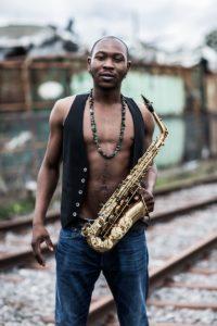 Seun Kuti ist der jüngste Sohn des sogenannten Erfinders des Afrobeat, Fela Kuti. (c) T.Kirsch