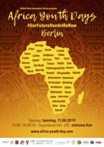 Zur Vergrößerung bitte den Flyer anklicken! Alle Infos auch unter www.africa-youth-day.com ©Heyde/Bosecker