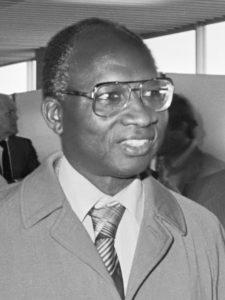Dawda Jawara, der letzte Premierminister vor der Unabhängigkeit und erste Präsident Gambias nach der Unabhängigkeit. (c) Fernando Pereira / Anefo - Nationaal Archief (cropped), CC BY-SA 3.0 nl