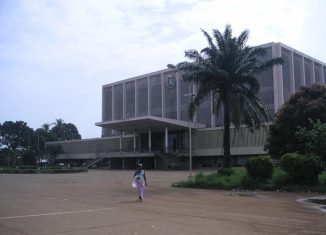 Palais du Peuple, Conakry © Wikimedia, Soman